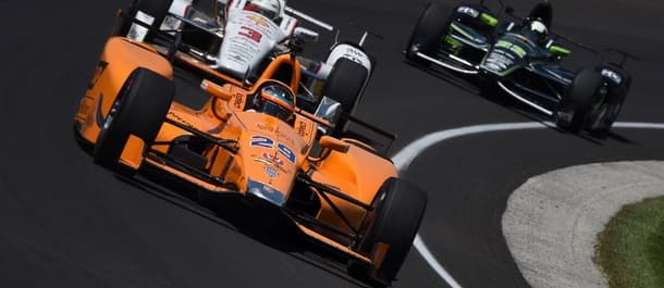 Fernando Alonso makes his Indy 500 debut.