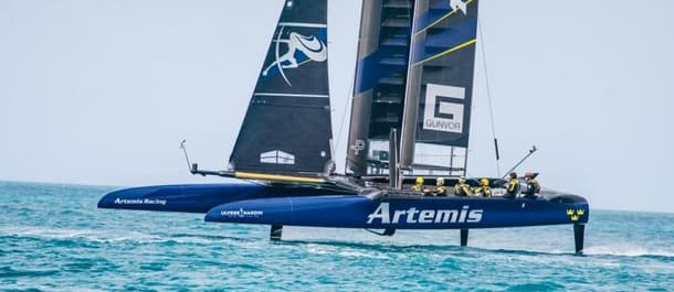 Artemis Racing represent the value in the Louis Vuitton Cup.