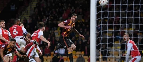 Rory McArdle's goal beat Fleetwood in the play off semi final.