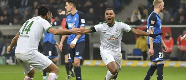 Werder Bremen earned a 1-1 draw at Hoffenheim earlier in the season