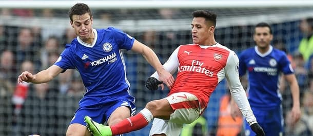Chelsea and Arsenal meet at Wembley to contest the FA Cup.