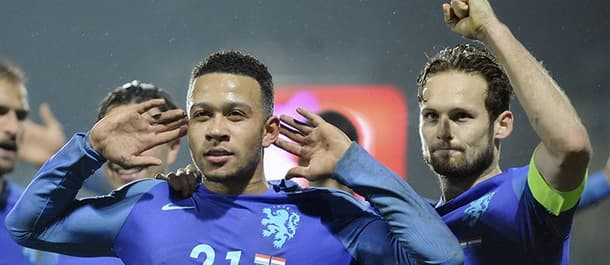 The Netherlands face Morocco in an international friendly on Wednesday.