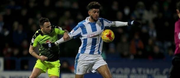 Huddersfield and Reading meet at Wembley on Monday.