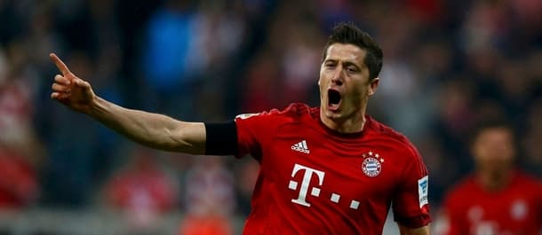 Lewandowski has scored 30 goals in 32 Bundesliga matches.