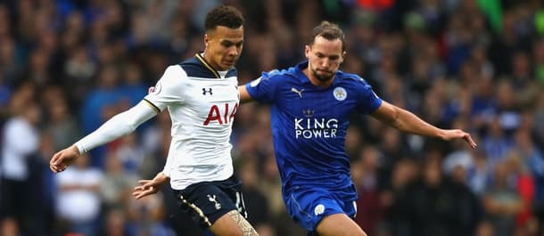 Spurs and Leicester drew 1-1 at White Hart Lane earlier this season.