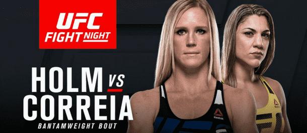 Holm vs. Correia - UFC Fight Night 110