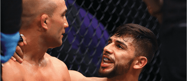 Yair Rodriguez Speaks to BJ Penn After Fight