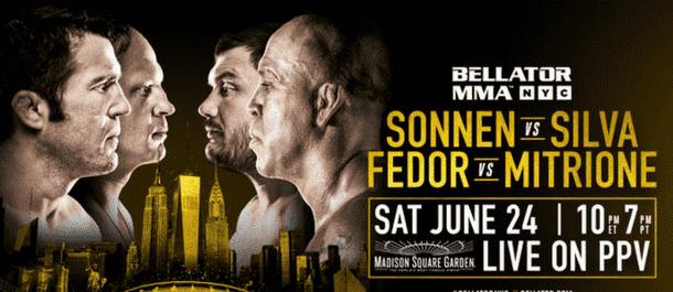 Bellator NYC Poster - Sonnen vs. Silva