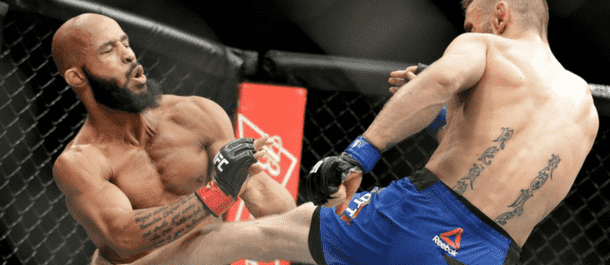 Tim Elliot Hurts DeMetrious Johnson