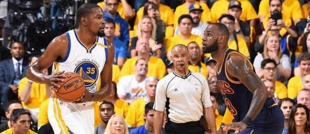 Durant dominated in game one