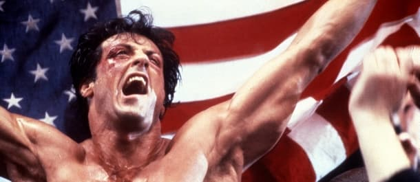 Sylvester Stallone starred in the famous Rocky franchise.