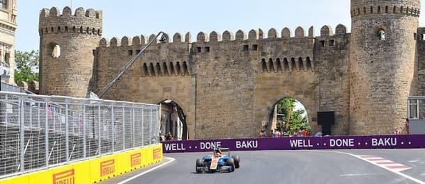 The Baku City Circuit in Azerbaijan.