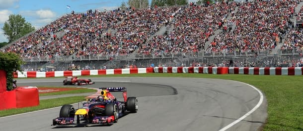 The Canadian Grand Prix takes place on Sunday.
