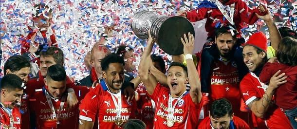 Chile won the Copa America again in 2016.