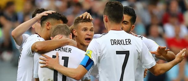 Germany face Mexico in the Confederations Cup semi final.