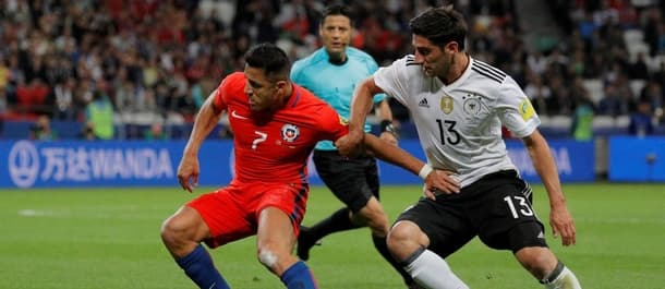 Germany and Chile drew 1-1 at the group stage of the Confederations Cup.