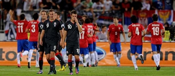 Wales seek to avenge their 6-1 defeat last time in Serbia.