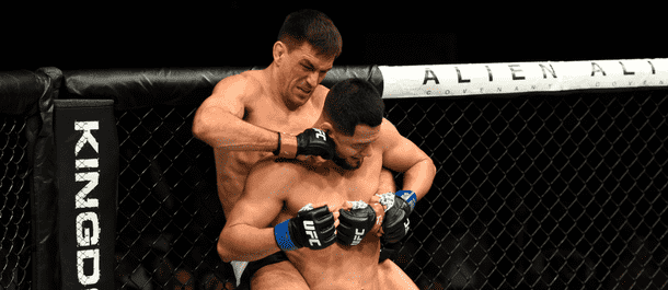 Maia 'Backpacks' Masvidal on way to a split decision