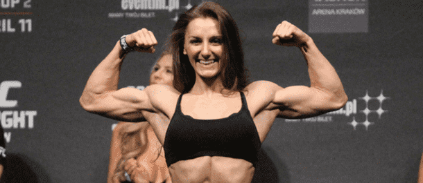 Alexandra Albu Weights in for UFC Poland