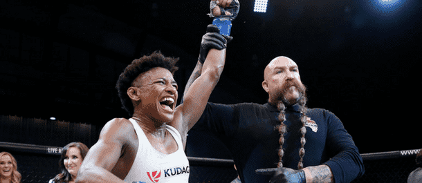 Angela Hill scores a MMA Win