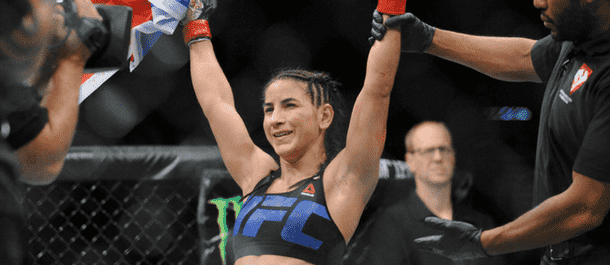 Tecia Torres with another UFC win