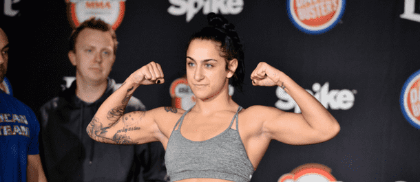 Emily Ducote Bellator Weigh-In