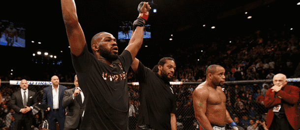 Jon Jones defeats Daniel Cormier at UFC 182