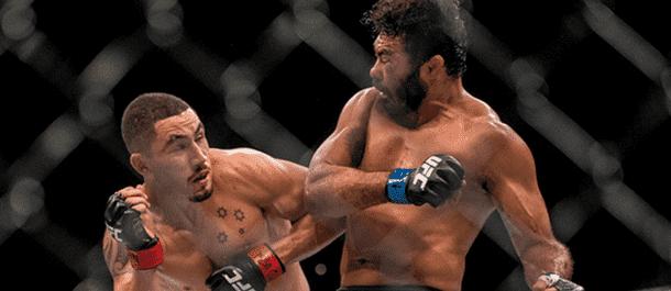 Rafael Natal battles Robert Whittaker