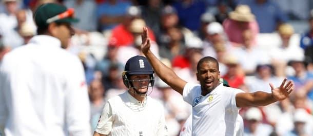 Philander has been a thorn in England's side