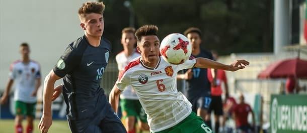 England U19 beat Bulgaria U19 2-0 in their European Championship opener.