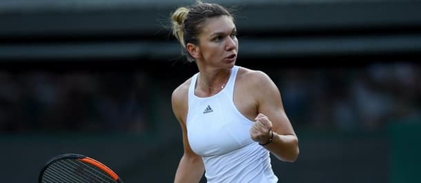 Simona Halep is ranked number two in the world.