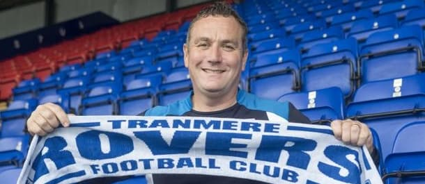 Micky Mellon aims to get Tranmere back into the football league next season.