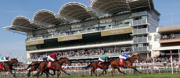 Thursday's racing action comes from the famous Newmarket racecourse.