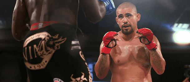 Fernando Gonzalez stalks his opponent