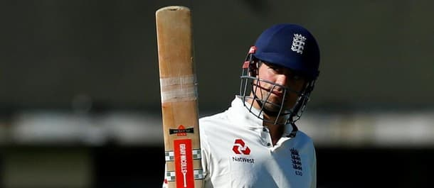 Cook shone against the pink ball