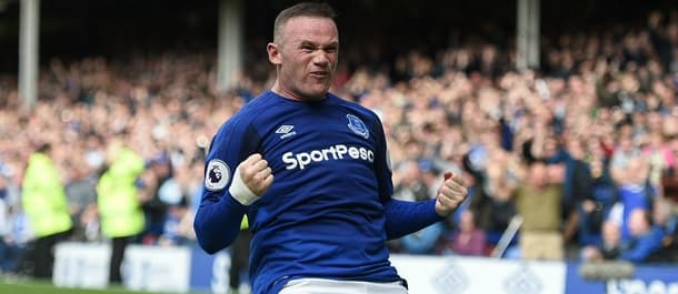 Wayne Rooney scored on his debut after rejoining Everton.