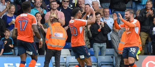 Luton beat Yeovil 8-2 on the first day of the season.