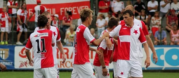 Slavia Prague lost 2-0 at APOEL in the first leg of their UCL qualifer.