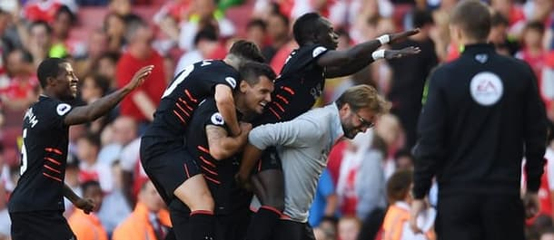 Liverpool beat Arsenal 4-3 on the opening day of last season.