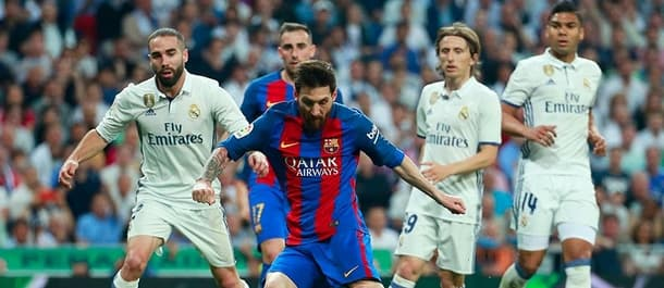 Barcelona host Real Madrid in the first leg of the Spanish Super Cup.