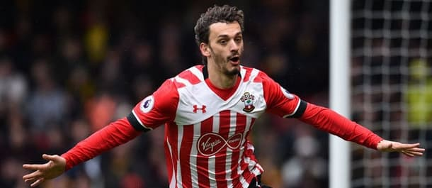 Manolo Gabbiadini scored four in eleven for Southampton last season.