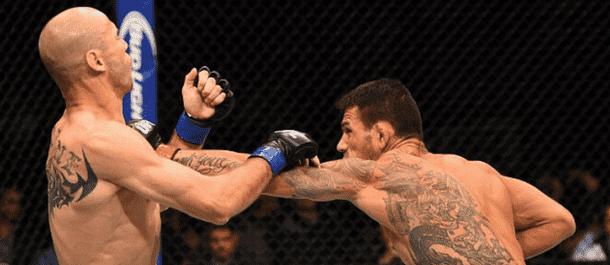 Rafael Dos Anjos destroys Donald Cerrone