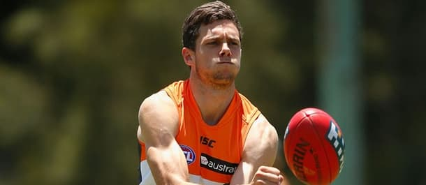 Josh Kelly has had a breakout season with Greater Western Sydney.