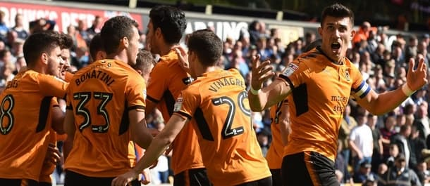 Wolves are joint top of the Championship ahead of the weekend fixtures.