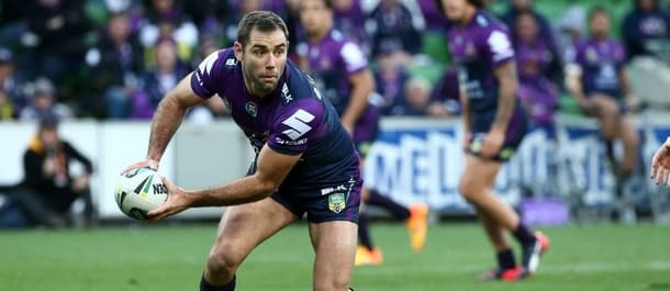 Melbourne Storm captain Cameron Smith is our pick for the Clive Churchill Medal.