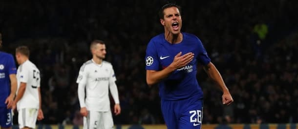 Chelsea beat Qarabag 6-0 in their last Champions League tie.
