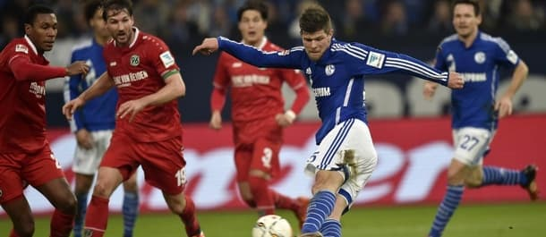 Hannover beat Schalke 1-0 in the Bundesliga last week.