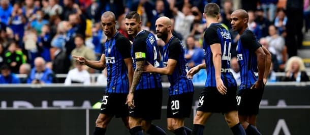 Inter Milan have won four from four at the start of Serie A.