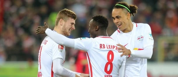 Leipzig make their Champions League debut at home to Monaco.