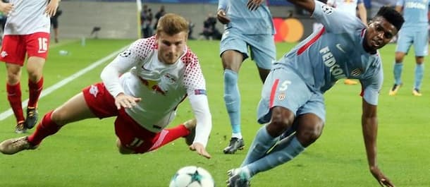 Leipzig played Monaco last week in the Champions League.